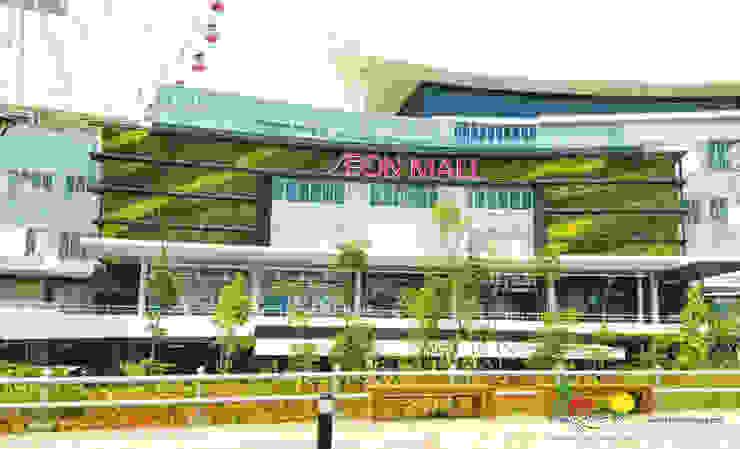 AEON - Jakarta Garden City Pusat Perbelanjaan Gaya Asia Oleh PT. Kampung Flora Cipta Asia