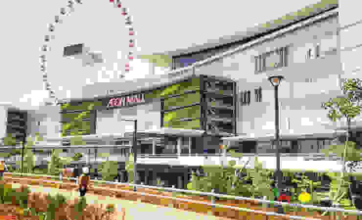 AEON – Jakarta Garden City Pusat Perbelanjaan Gaya Asia Oleh PT. Kampung Flora Cipta Asia