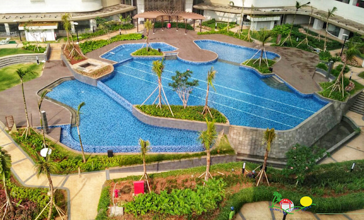 KENSINGTON, KELAPA GADING Hotel Modern Oleh PT. Kampung Flora Cipta Modern