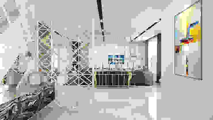 modern living room design توسط Rhythm And Emphasis Design Studio