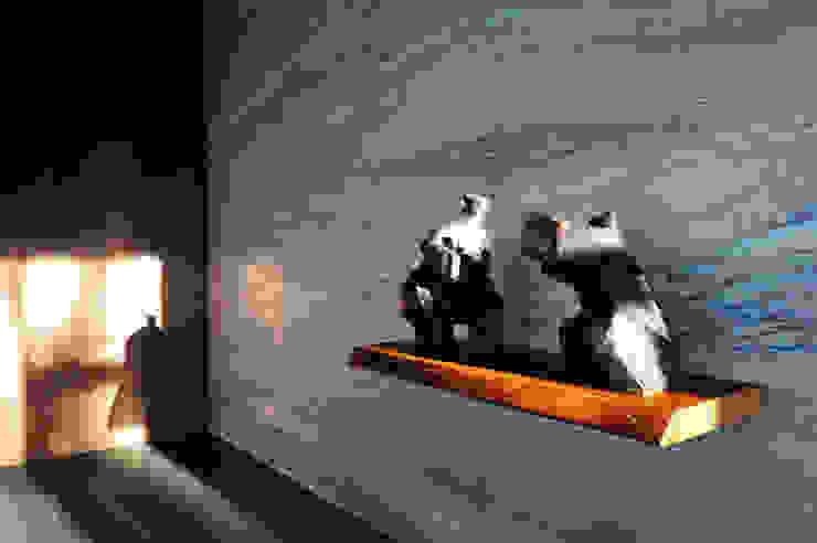 Paredes y pisos de estilo minimalista de 黃耀德建築師事務所 Adermark Design Studio Minimalista
