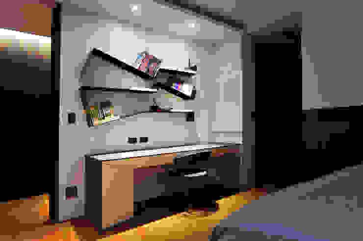 Dormitorios de estilo minimalista de 黃耀德建築師事務所 Adermark Design Studio Minimalista
