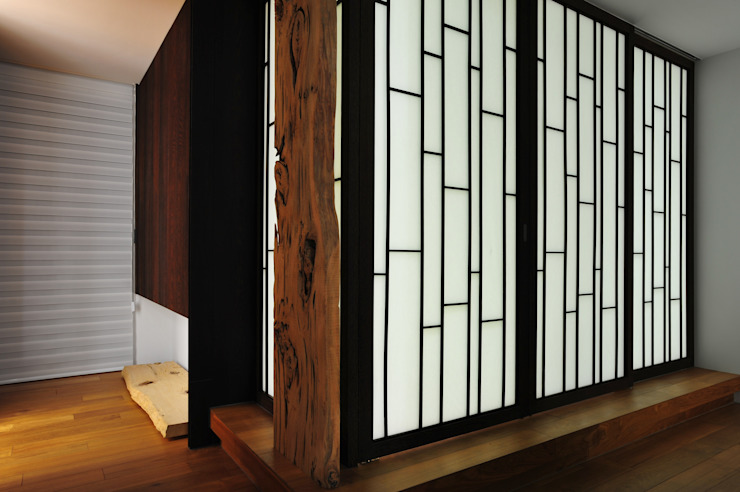 Puertas de estilo minimalista de 黃耀德建築師事務所 Adermark Design Studio Minimalista