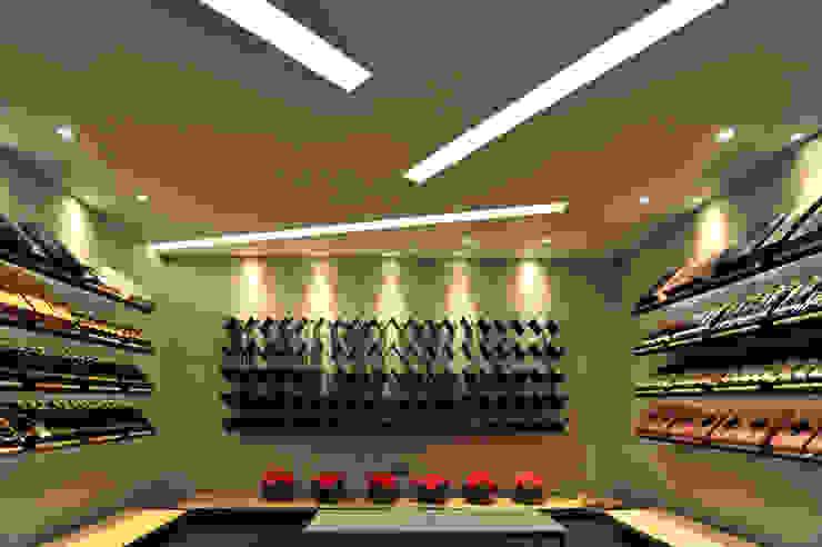 黃耀德建築師事務所 Adermark Design Studio Bodegas de estilo minimalista