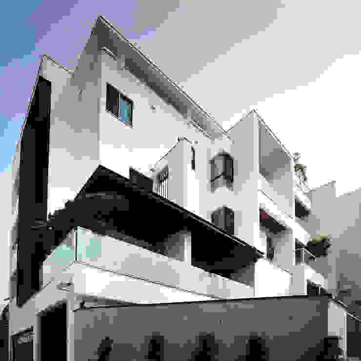 建築物西北向立面 根據 黃耀德建築師事務所 Adermark Design Studio 簡約風