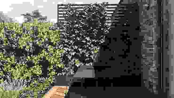 Jardines de estilo moderno de STTYK - Pracownia Architektury Wnętrz i Krajobrazu Moderno