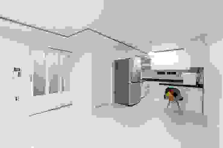 30평 빌라 리모델링: 그리다집의 현대 ,모던
