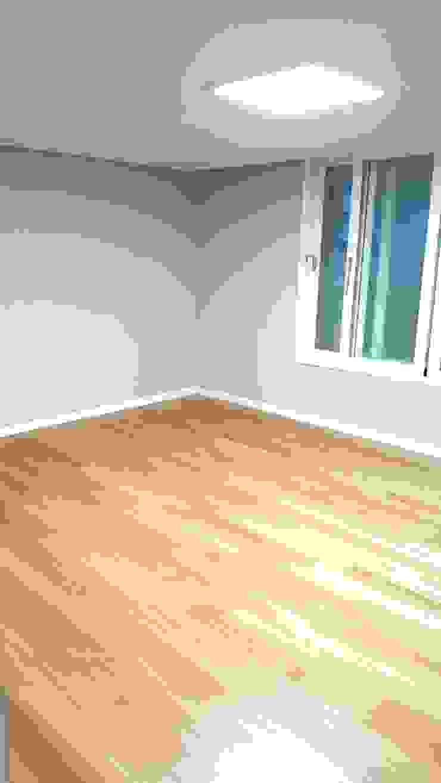 대신동아아파트 40평 모던스타일 미디어 룸 by 그리다집 모던