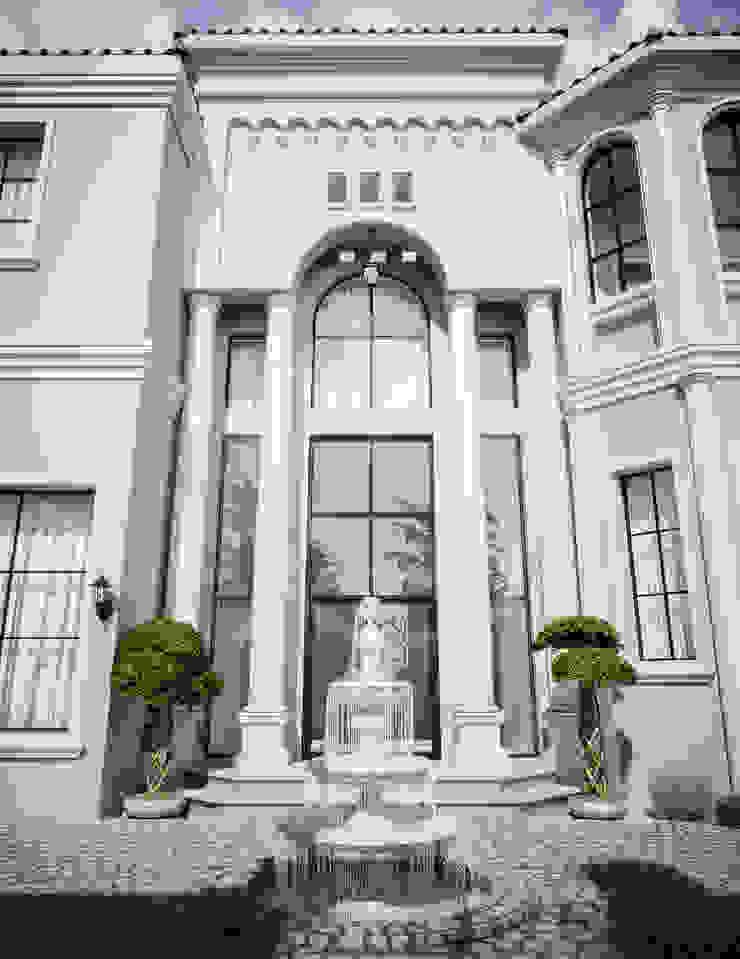 Mediterranean Arabic House Design by Comelite Architecture, Structure and Interior Design Mediterranean
