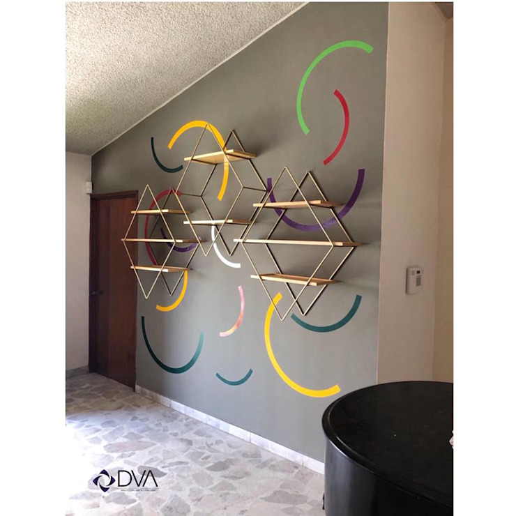 Diseño de estantería DVA | Arquitectura . Diseño . Publicidad Estudios y despachos modernos