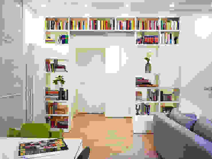 studio di progettazione architetto caterina martini Modern Living Room