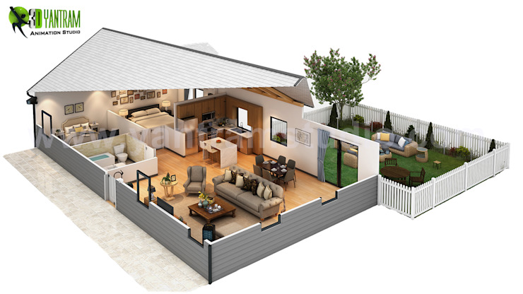 Cut Section Of Small Home Design Ideas