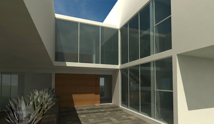 Casa Minimalista en Zapopan de TaAG Arquitectura Minimalista
