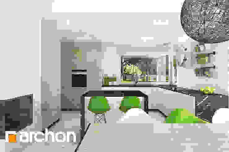 Modern kitchen by ARCHON+ PROJEKTY DOMÓW Modern