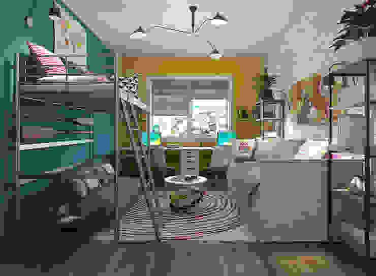 Habitación infantil Fusion homify Dormitorios infantiles de estilo ecléctico