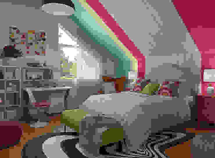 Bedroom by Glancing EYE - Asesoramiento y decoración en diseños 3D , Eclectic