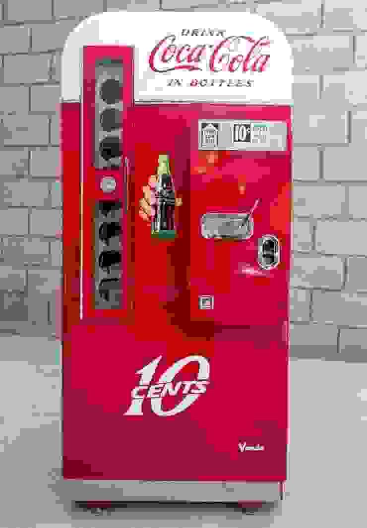OldLook HogarGrandes electrodomésticos Metal Rojo