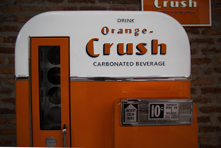 OldLook HouseholdAccessories & decoration Metal Orange