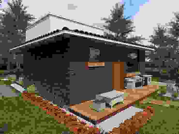 Casas modernas por HC Arquitecto Moderno