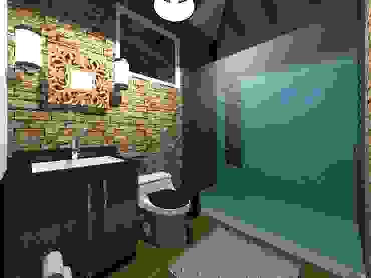 Casa de Campo HC Arquitecto Baños modernos