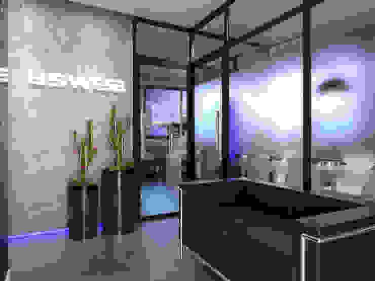 ESWEB AOI Arquitetura Espaços comerciais modernos
