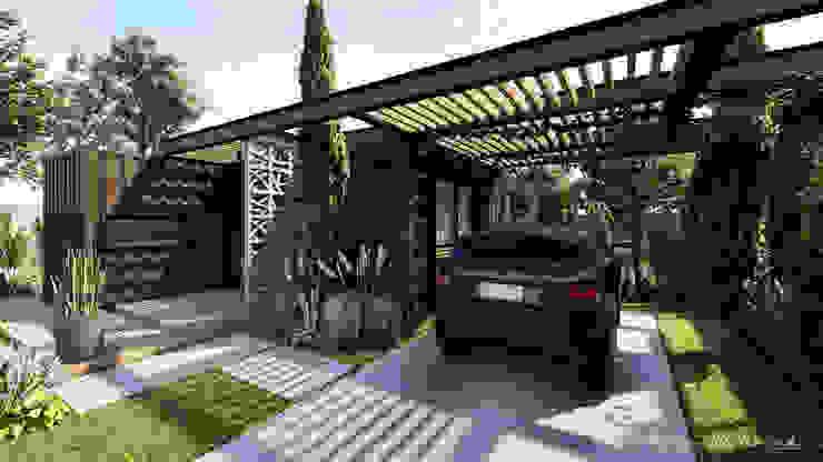 Häuser von Rodrigo Westerich - Design de Interiores, Industrial Eisen/Stahl