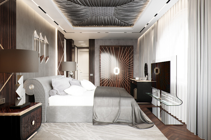 EJ Studio Modern style bedroom