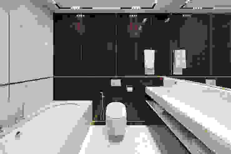 Квартира в ЖК Николаевский ансамбль Ванная комната в стиле модерн от EJ Studio Модерн