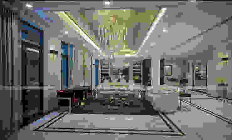 Phòng khách: hiện đại  by A&More Architecture, Hiện đại