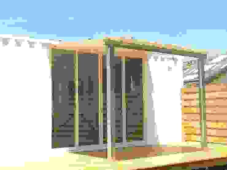 貨櫃屋改造 根據 洄瀾柴房 景觀工作坊 貨櫃屋改造 隨意取材風
