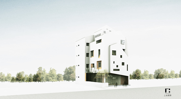 Modern houses by 上埕建築 Modern