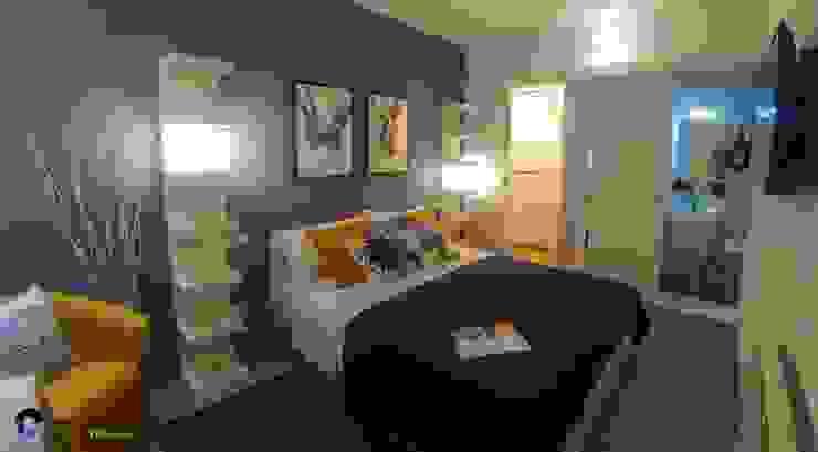 غرفة نوم تنفيذ Creattiva Home ReDesigner  - Consulente d'immagine immobiliare