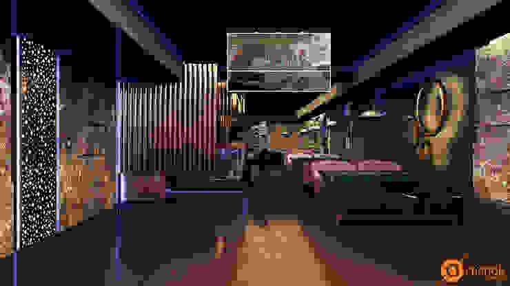 Artichok Design 餐廳 水泥 Brown