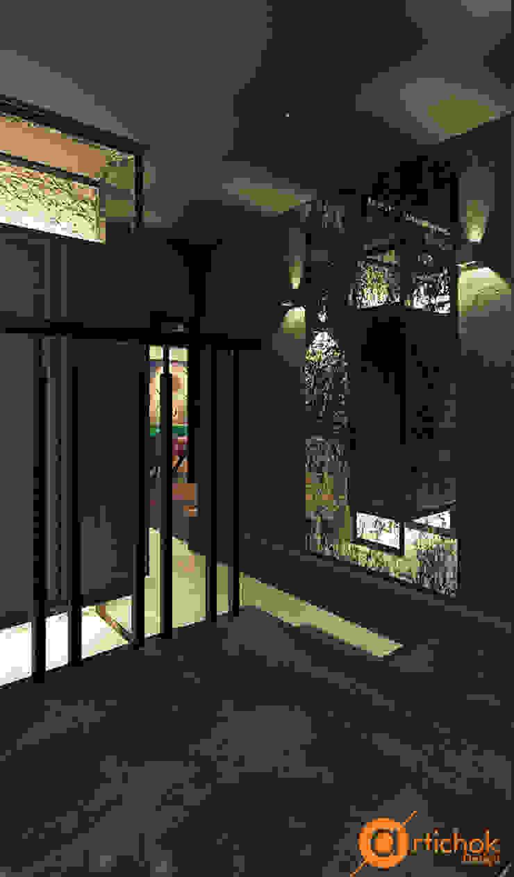 Artichok Design 商業空間 花崗岩 Brown