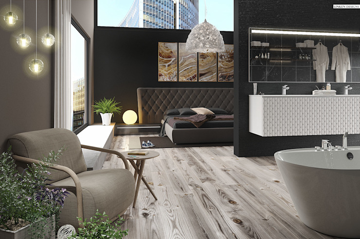 Luxury Hotel apartment 根據 Linken Designs 簡約風 木頭 Wood effect