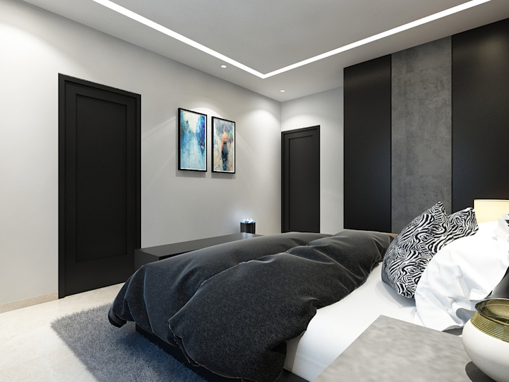 Modern style bedroom by Spaces Alive Modern