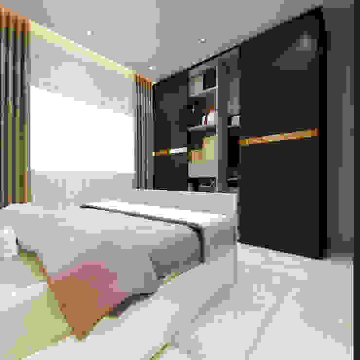 Dormitorios de estilo moderno de Spaces Alive Moderno