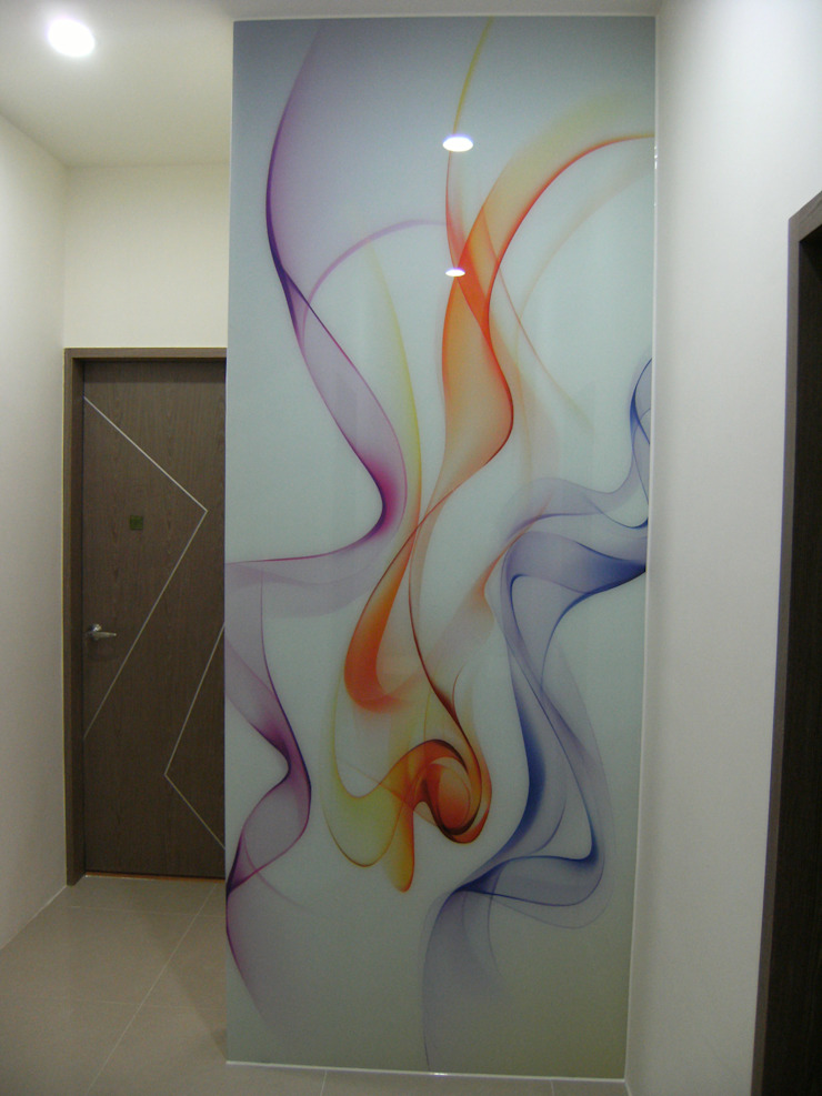 延平北路二段 新屋設計工程 周公館 25坪 三房兩廳兩浴室: 現代  by 三印空間設計, 現代風