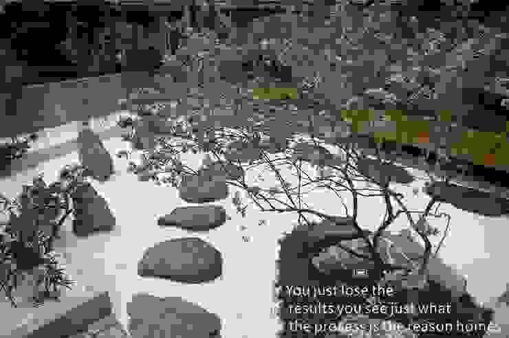 餐廳 日式庭園造景 根據 洄瀾柴房 景觀工作坊 貨櫃屋改造 日式風、東方風