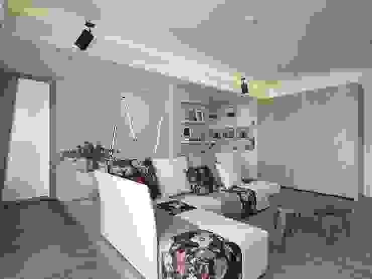 覺知.光 禾光室內裝修設計 ─ Her Guang Design 現代風玄關、走廊與階梯