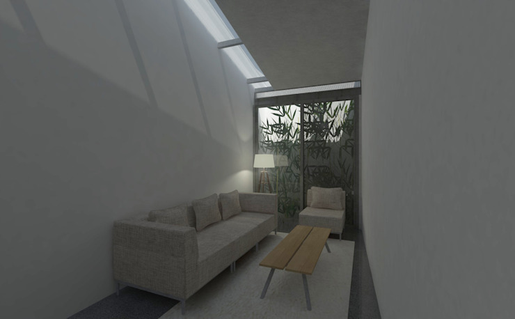 Living room:modern  oleh studio moyn, Modern