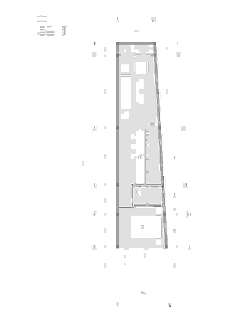 Denah lantai 2:modern  oleh studio moyn, Modern