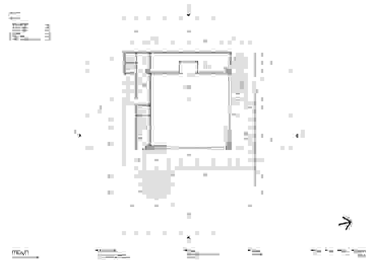 Denah lantai - 1 Oleh studio moyn
