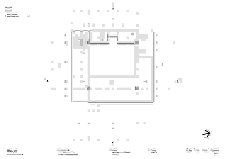 Denah lantai - 2 Oleh studio moyn