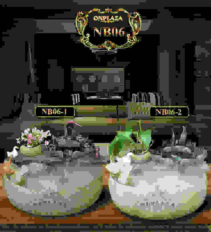 2 mẫu chậu tiểu cảnh mini bán chạy nhất: Quốc gia  by Công Ty Thi Công Và Thiết Kế Tiểu Cảnh Non Bộ, Đồng quê