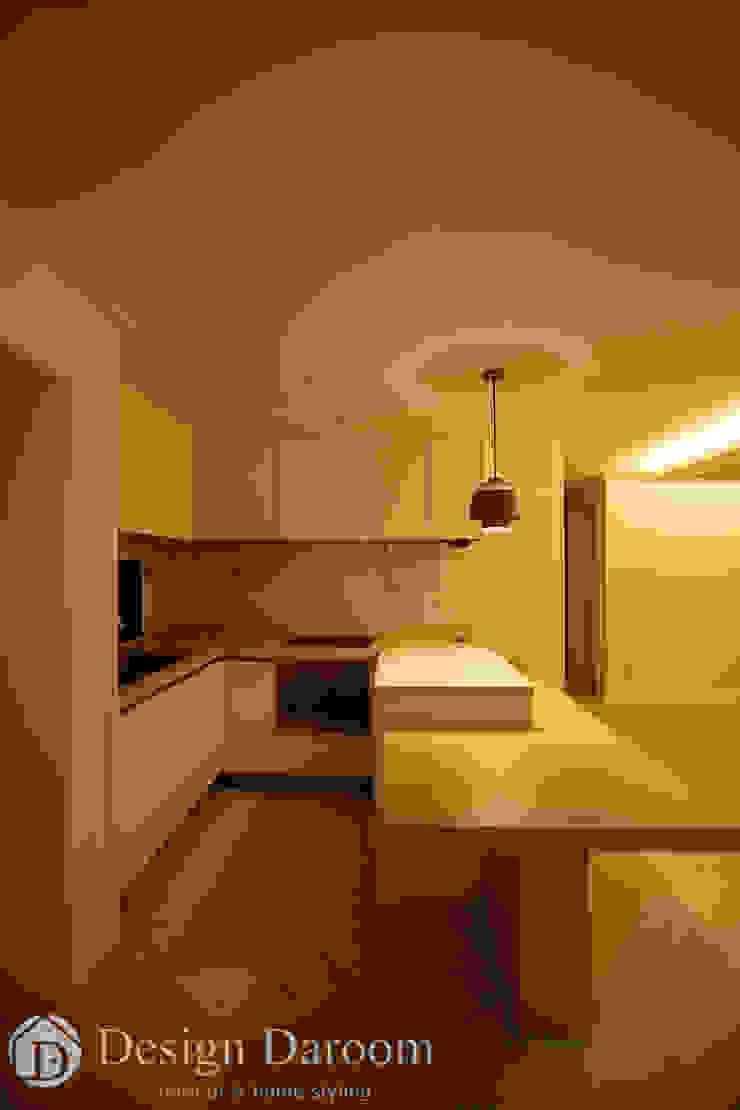 인창동 원일가대라곡 25py 주방 모던스타일 주방 by Design Daroom 디자인다룸 모던