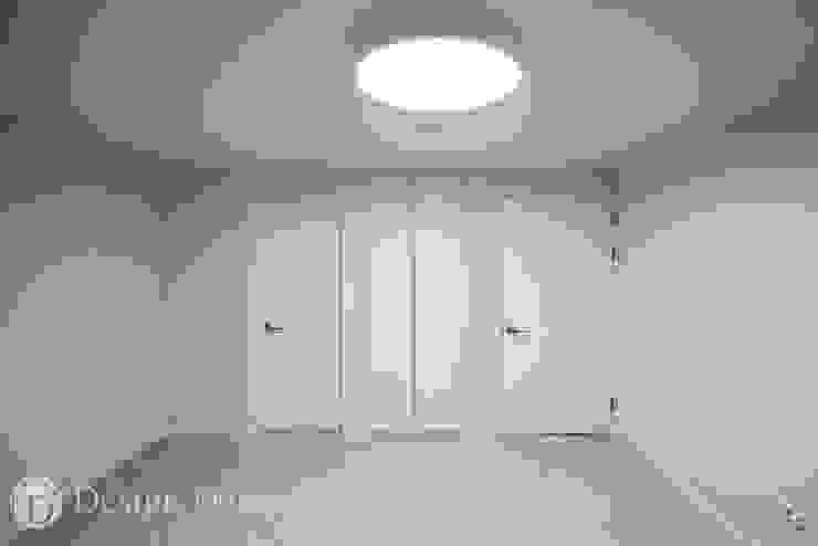 인창동 원일가대라곡 25py 안방 모던스타일 침실 by Design Daroom 디자인다룸 모던