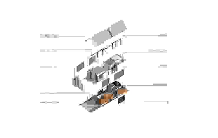 BUILDING ASSEMBLY: เขตร้อน  โดย MANA ATELIER CO.,LTD, ทรอปิคอล