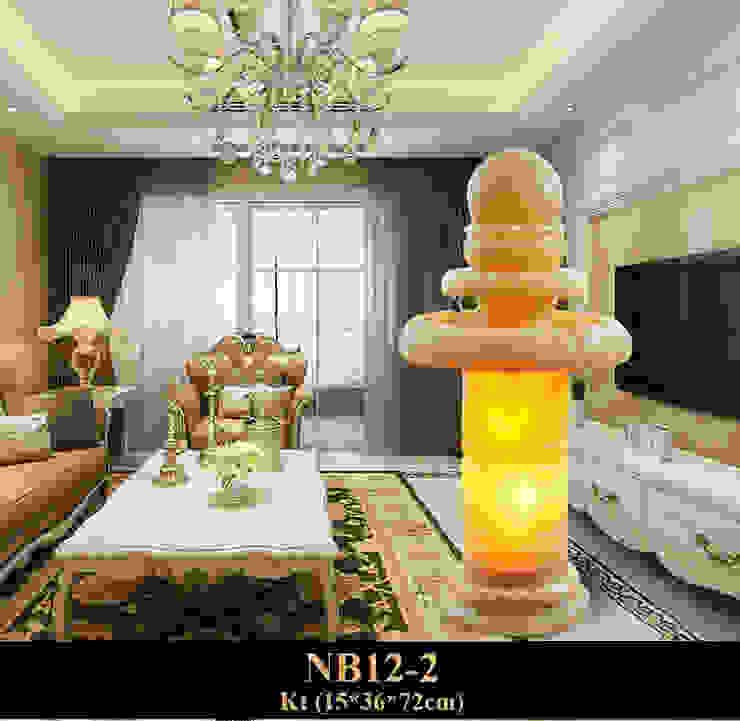 Thác Nước Phong Thủy Quả Cầu NB12-2 bởi Công Ty Thi Công Và Thiết Kế Tiểu Cảnh Non Bộ