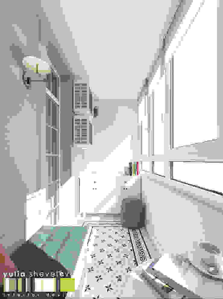 Eclectic style windows & doors by Мастерская интерьера Юлии Шевелевой Eclectic
